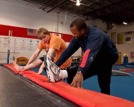 Gymnastics program